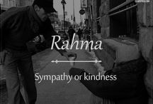 Beautiful Arabic words