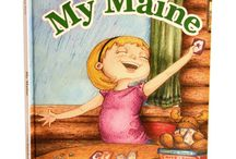 My Maine / Children's Book written by Suzanne Buzby Hersey, Illustrated by Nicole Fazio