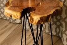 Tavolino basso, poggiapiedi