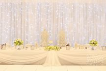 Cahoots Wedding Decoration / Lighting linens and drapes for weddings.