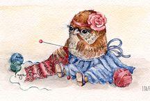 Inga's owls