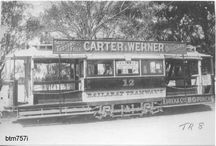 Historic Ballarat tramway photos / Ballarat trams in operation in the streets of Ballarat, also in Melbourne and Geelong, from 1887-1971.