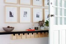 Entrance organisation / by Planning With Kids