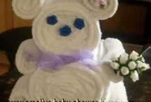 Teddybear face washer  / Teddy bear facewasher