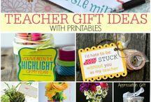 Teacher's Appreciation Week / Celebrate the teachers in your life!