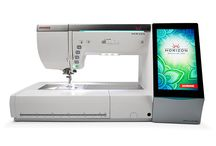 Janome machines / At a glance guide of Janome's latest machines