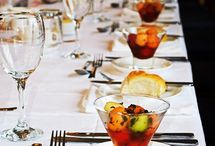 Tips for Feeding a Large Wedding Party on a Tight Budget / You don't have to sacrifice that dream dress or even quit the idea of a caterer. There are ways to feed a large wedding party — and still keep within reason.