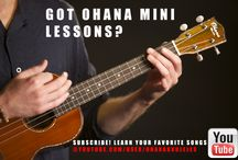 Ohana Mini Lessons  / Learn how to play all of your favorite songs with Ohana friend Jon MacLennan.