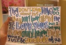 One Direction Lyric Art