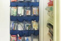 Useful storage ideas. / by Mary