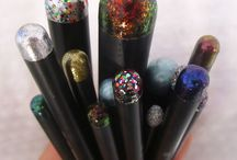 Nail Polish Crafts- bcz I have a tub of polish I don't use! / by Sherene Sonboli