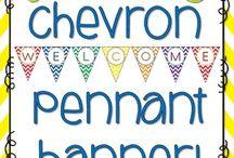 Chevron Classroom / by Amy Lippincott Maute