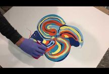 pour and spin