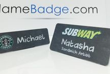 Name Badges / Custom Name Tags, Name Badges