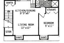 small floor plans /