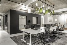 Working spaces / Workspaces, offices and commercial interiors