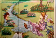 Anna Kanata_ Wall paintings- Murals