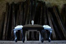 design / Wood coffeetable design di recupero