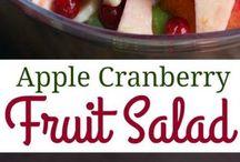Fruit Salads...