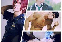 cosplay(>w< ) / anime juegos trajes....