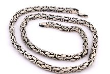 gümüş erkek zinciri