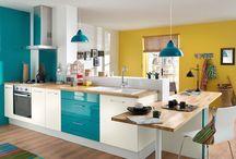 Inspiração: Paredes coloridas / Ideias para inspirar você na hora de pintar sua casa.