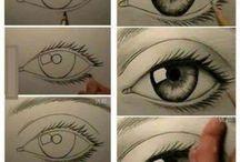 auge zeichnen