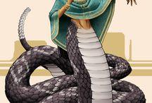 Snake Shifter Mythology