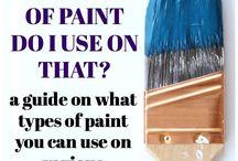 Tips on paint