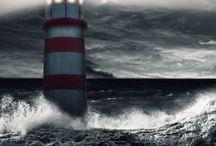Tempête / Image de la mer ..