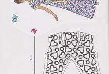 Easy Barbie Patterns / Easy Barbie pattern scanned by Caroli