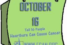 Heartburn can cause Cancer