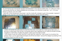 FIMOnávody - pudry, inkousty, kovové plátky, vymývaná sůl