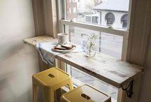 Basement bar table