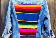 рисунки на джинсовке