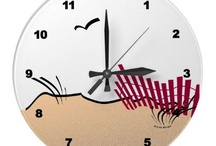 Wall Clocks / Cool clocks - unique wall clocks and home decor. Decorative custom clocks for any room in your space. Give that room a little personality or hang a smile with these custom designed cute and cool wall clocks.