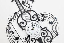 Muro musicale (orologio)