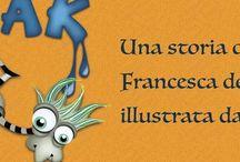 Freak / Da un' idea nasce FREAK! La penna di Francesca de Tora ne racconta le avventure, io l'ho disegnato e ognuno di VOI può renderlo più reale...se ne vedranno delle belle amici....stay tuned!  ;) Intanto condivideteeee!