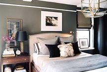 Men's Bedroom Lighting / Masculine bedroom lighting and decor options