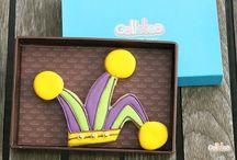 Carnaval, carnavaaaal! / ¿Vas a preparar una fiesta este carnaval? Estas galletas decoradas serán ideales para ti :)