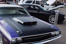 Our Rock Woodward with Dodge contest winners are proudly on display. #DreamCruise - photo from dodgeofficial
