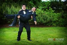 Boys Will Be Boys / Grooms & Groomsmen Enjoying Their Weddings / by Misselwood at Endicott College