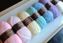 Crochet colours