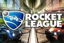Stickers chambre Rocket League