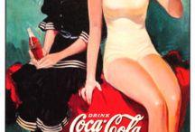 Vintage Spot Coca Cola