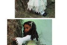 Amazing Designs for Dolls / Some fabulous doll clothes...some by me, some by others!
