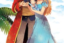 The Family Of King And Queen Of One Piece