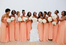 Coral/Peach Wedding Theme