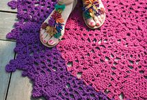 CREATIVE: Crochet- Rugs / Crocheted Rugs / by Blue Velvet Moon Weddings & Events