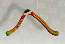 Boomerangs / Sports, boomerangs, hand-made, toys, recreation, art